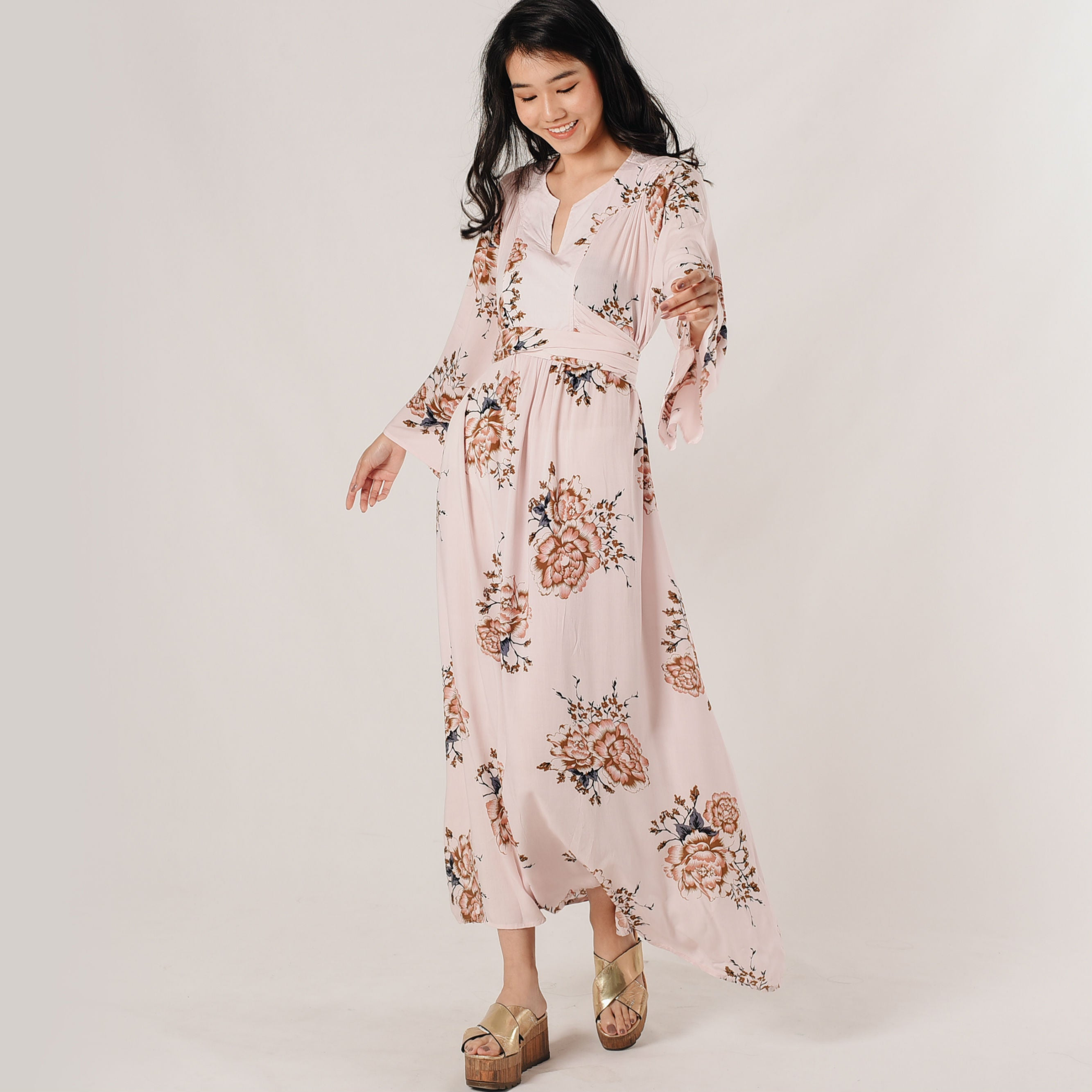 Fanny Maxi Floral Dress