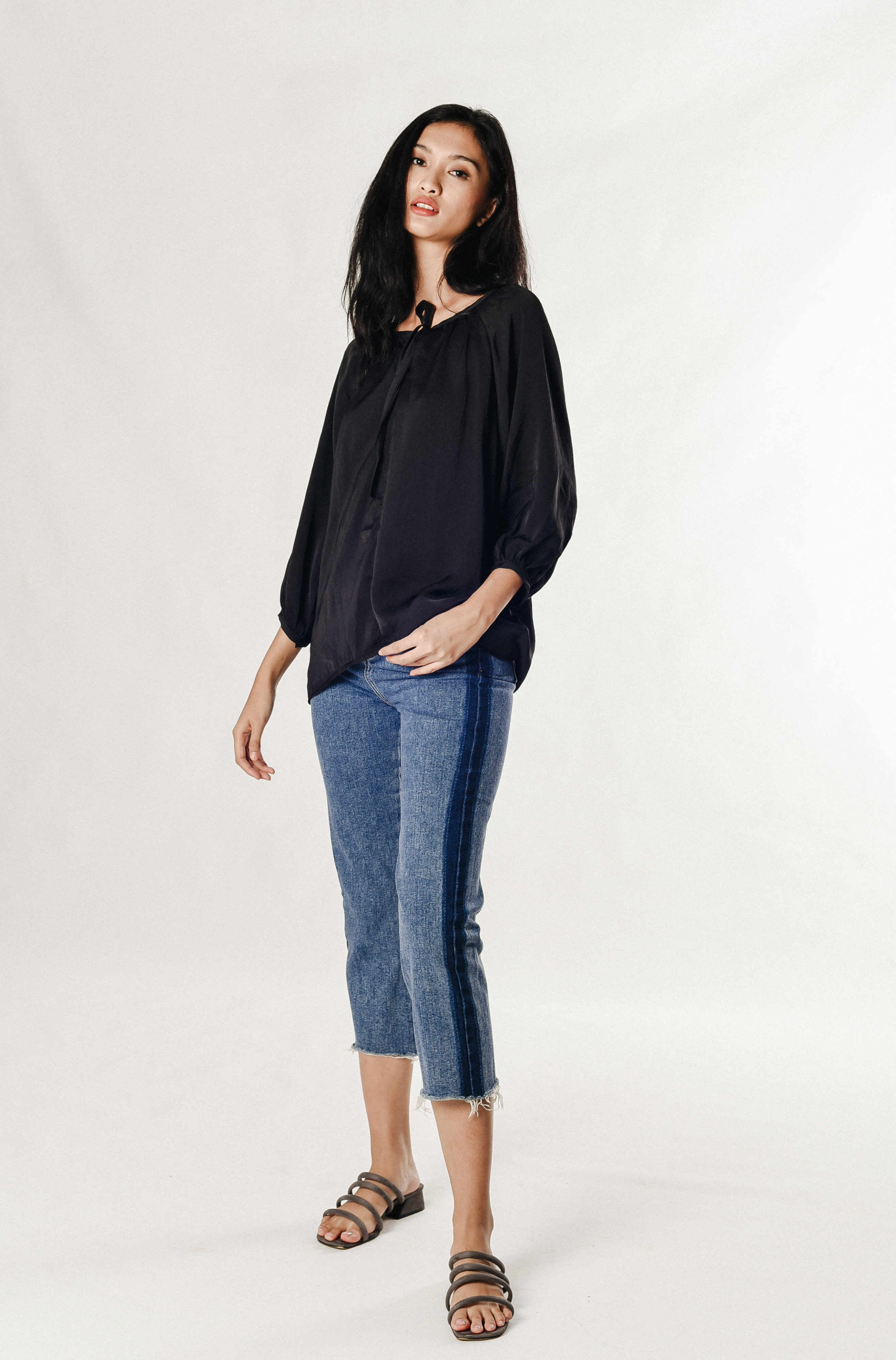 Theodora Silk Top