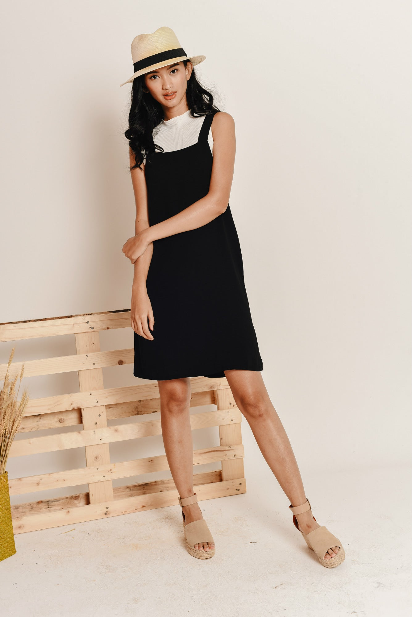 Danielle Pinafore Dress