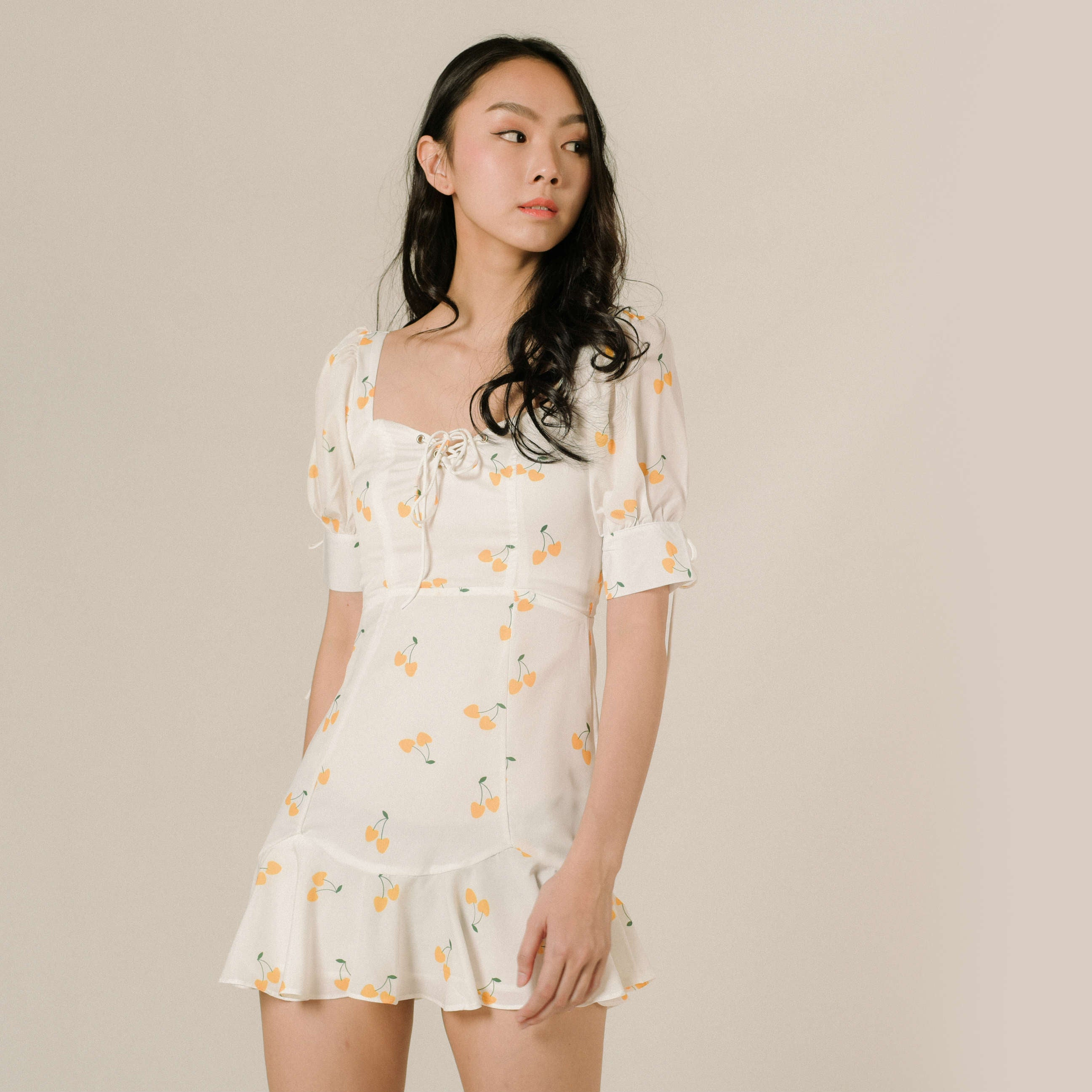 Rachel Tie Mini Dress