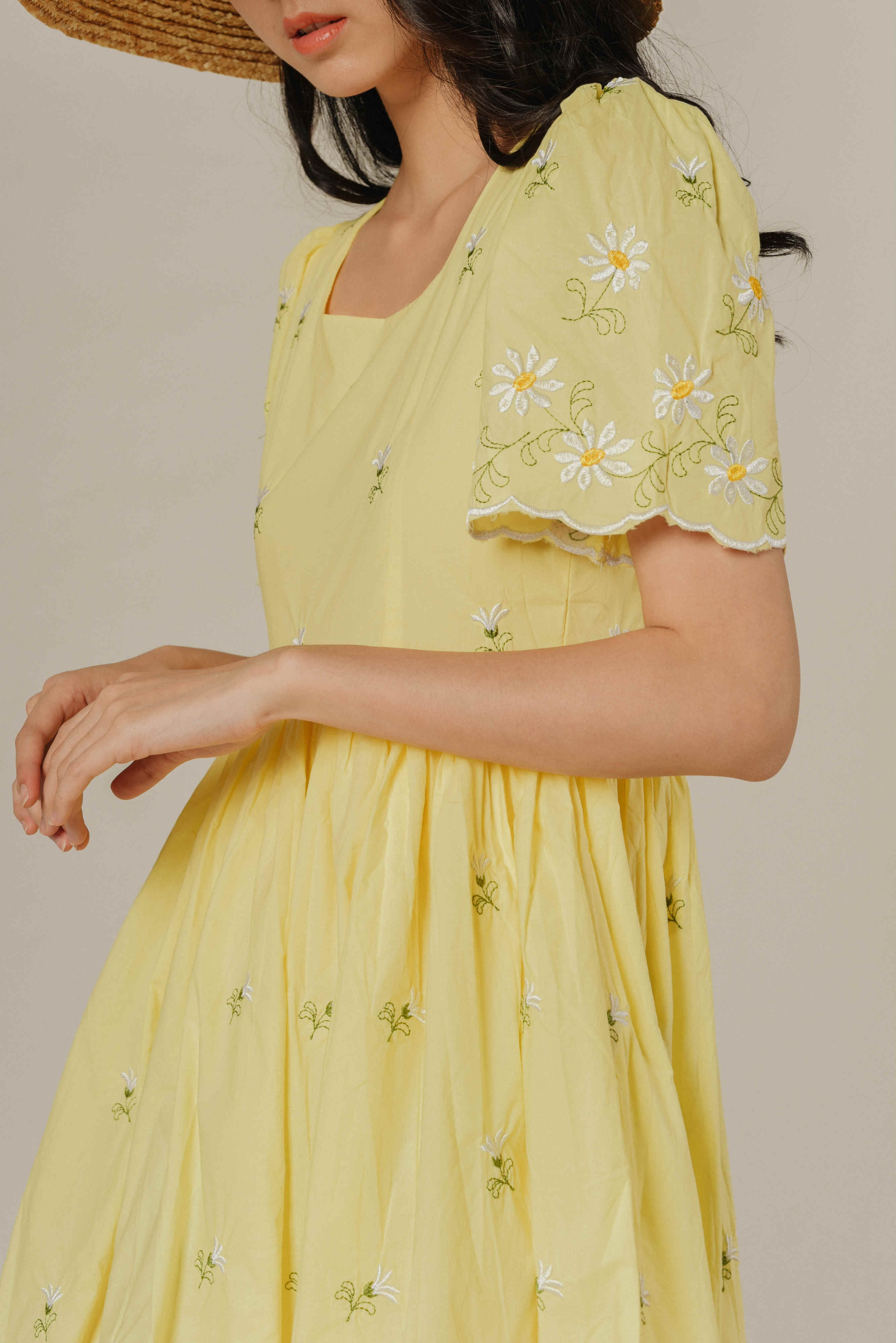 Connie Embroidered Floral Dress