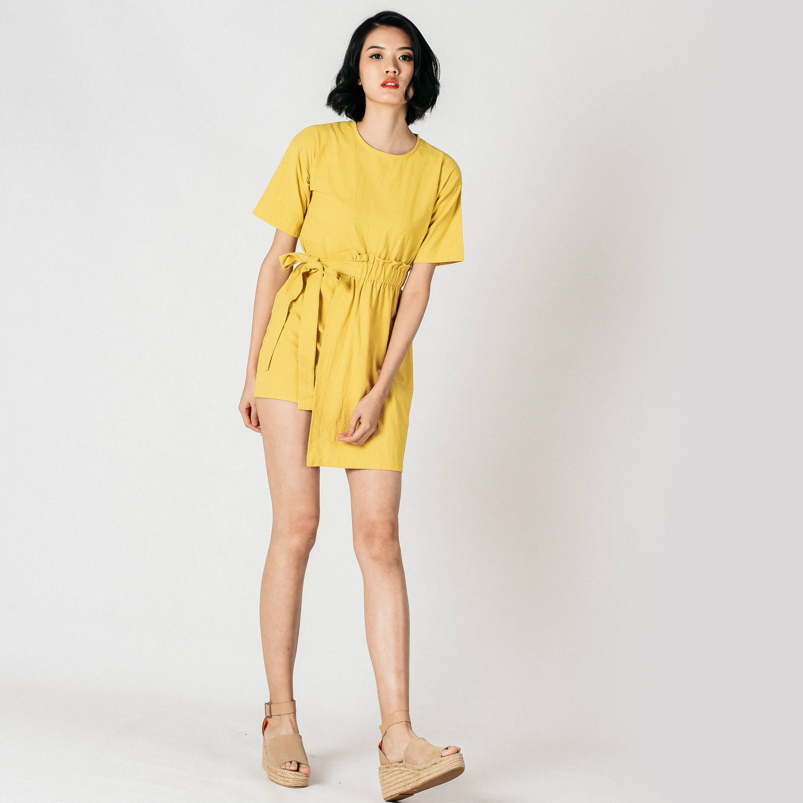 Delise Mini Asymmetrical Dress