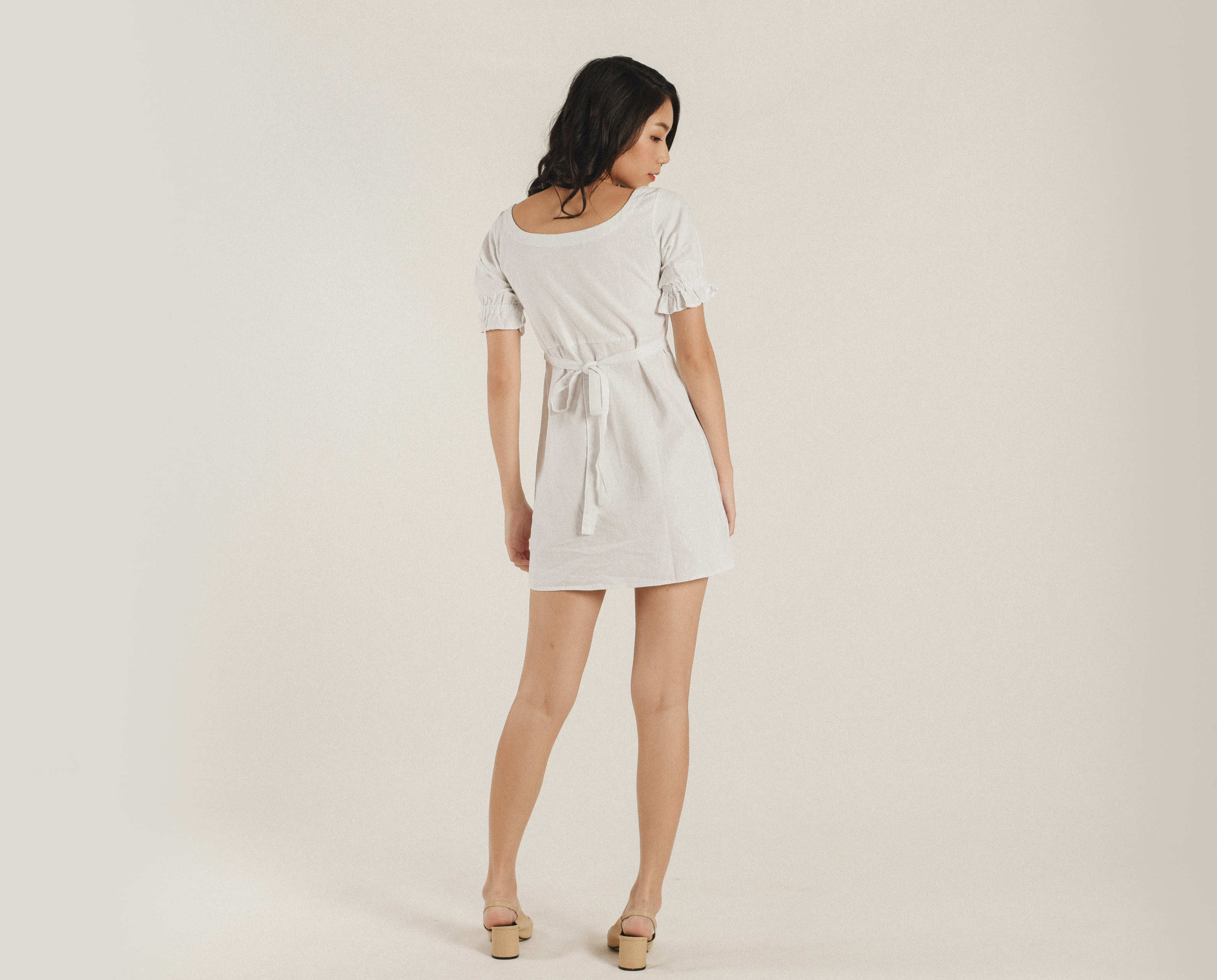 Illy Square Neck Dress