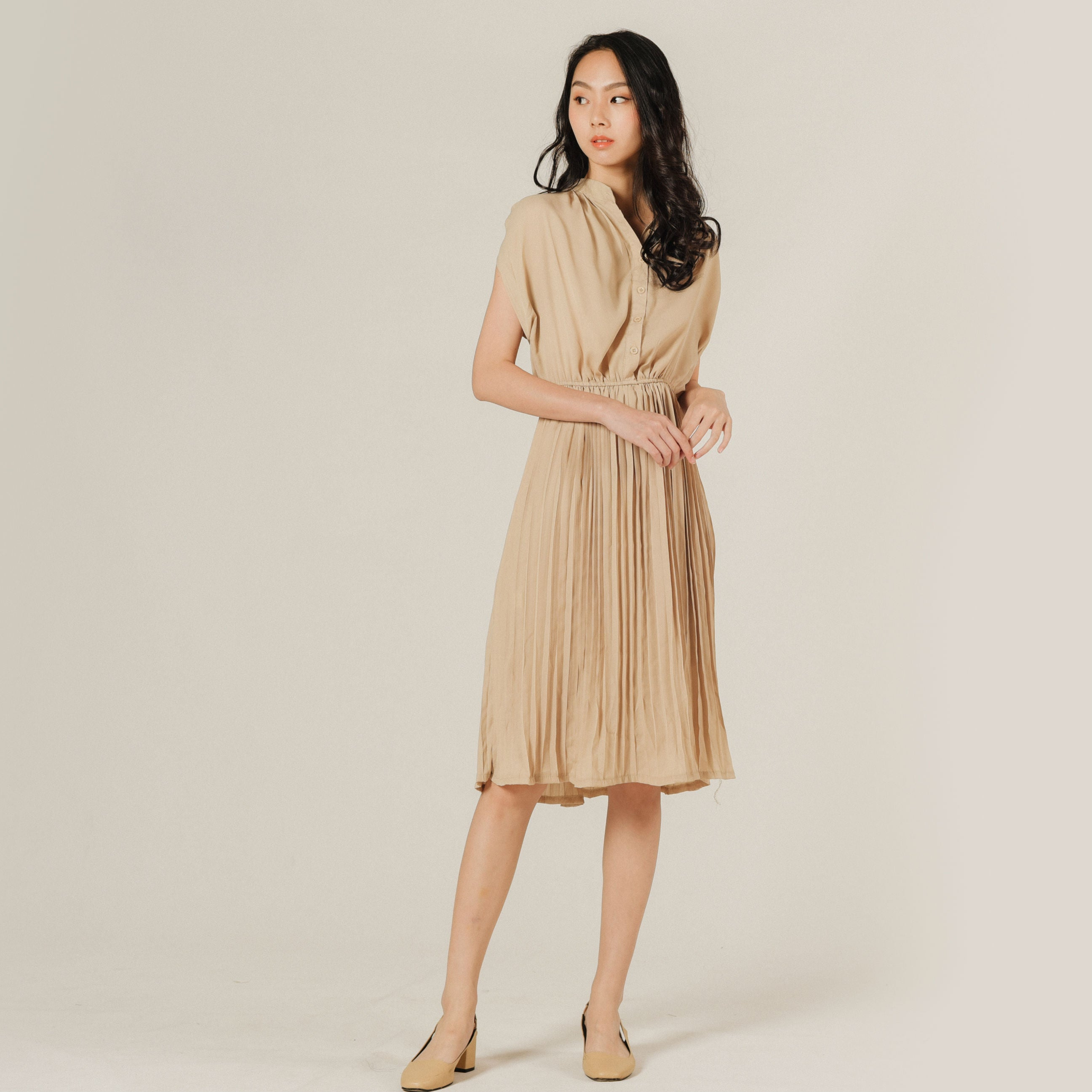 Junie Pleated Dress