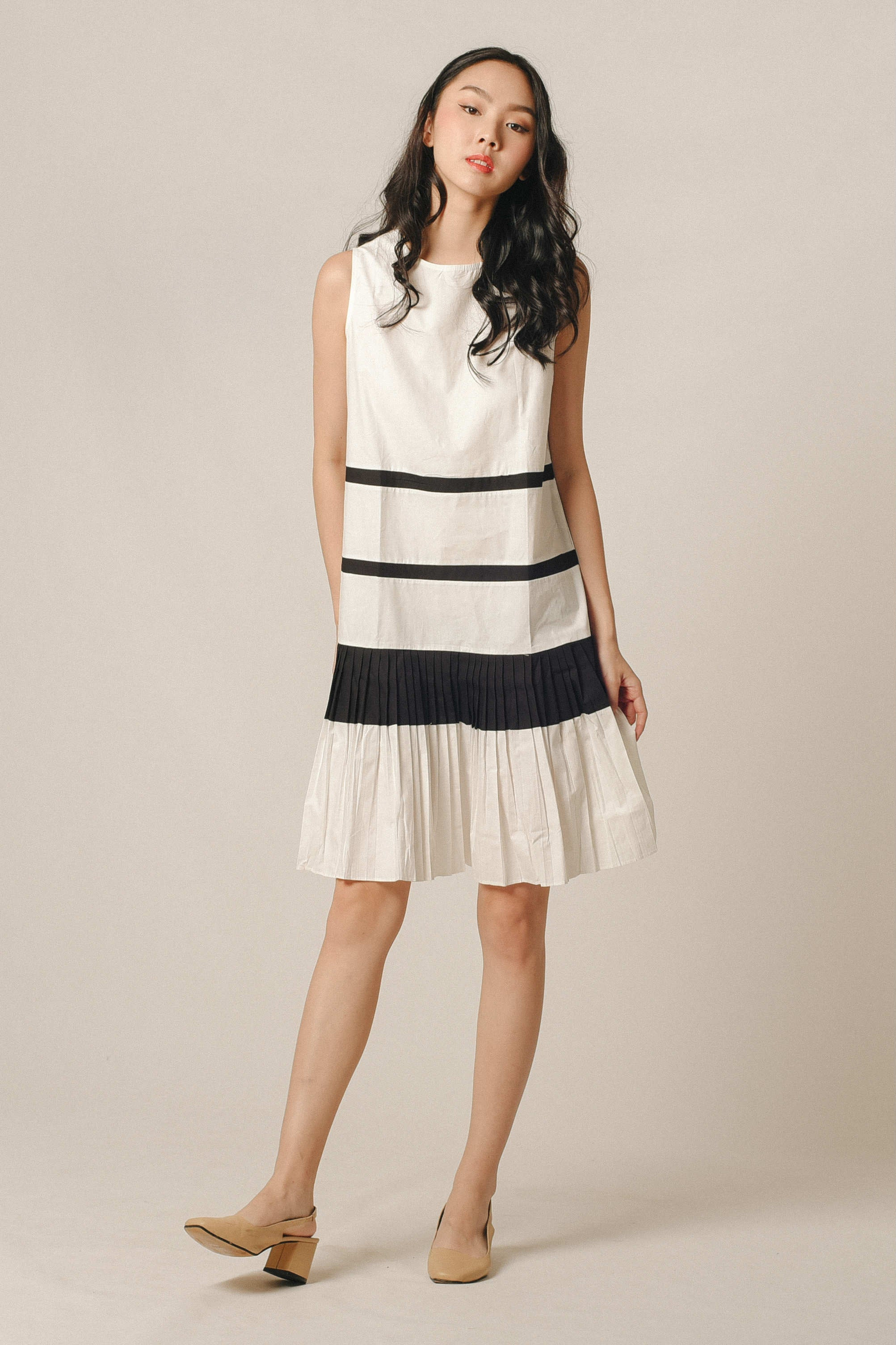 Agatha Pleated Dress