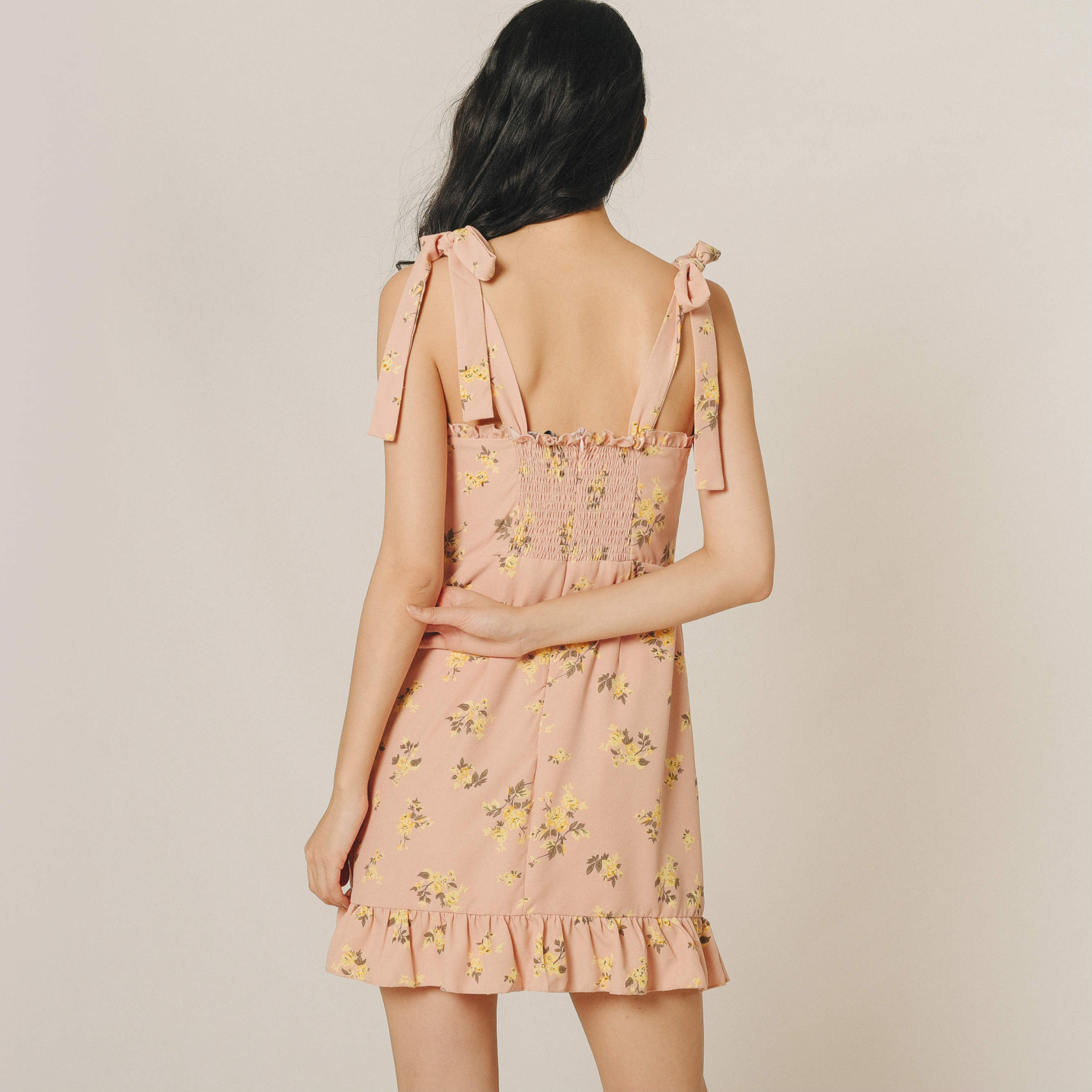 Theory Print Tie Dress