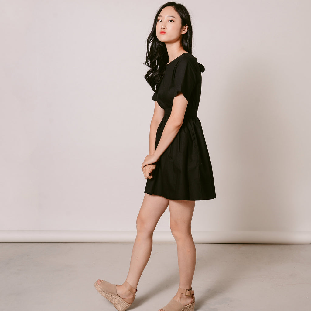 Simone Mini Black Dress
