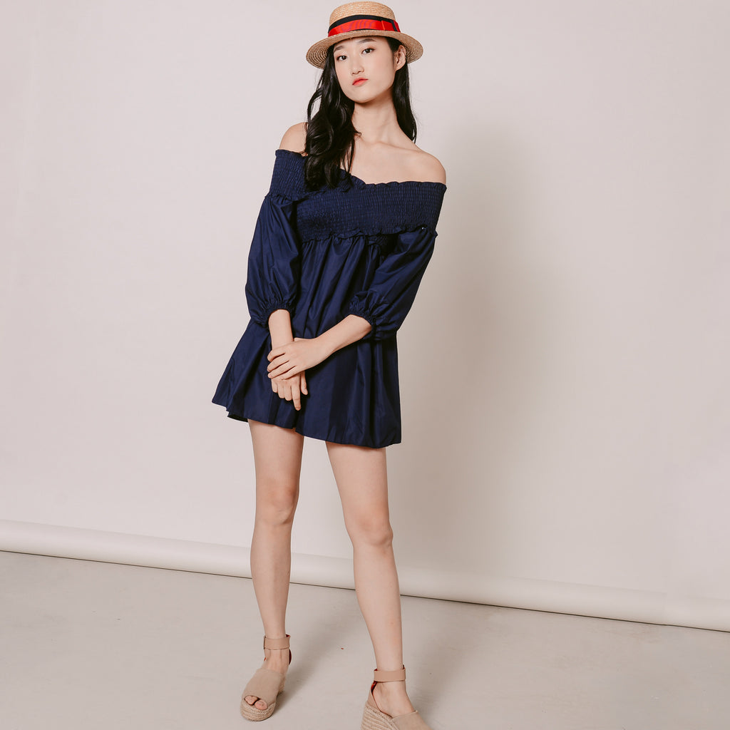 Noel Off-Shoulder Dress
