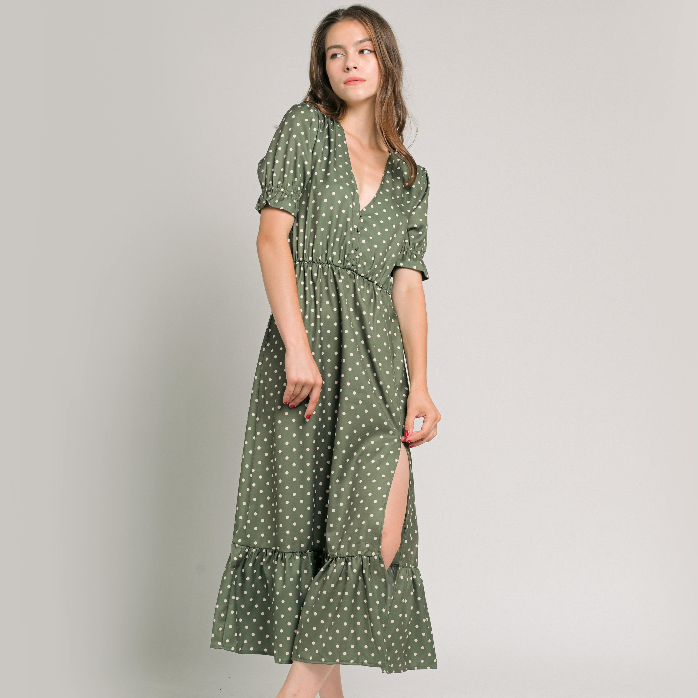 Elly Polka Dress