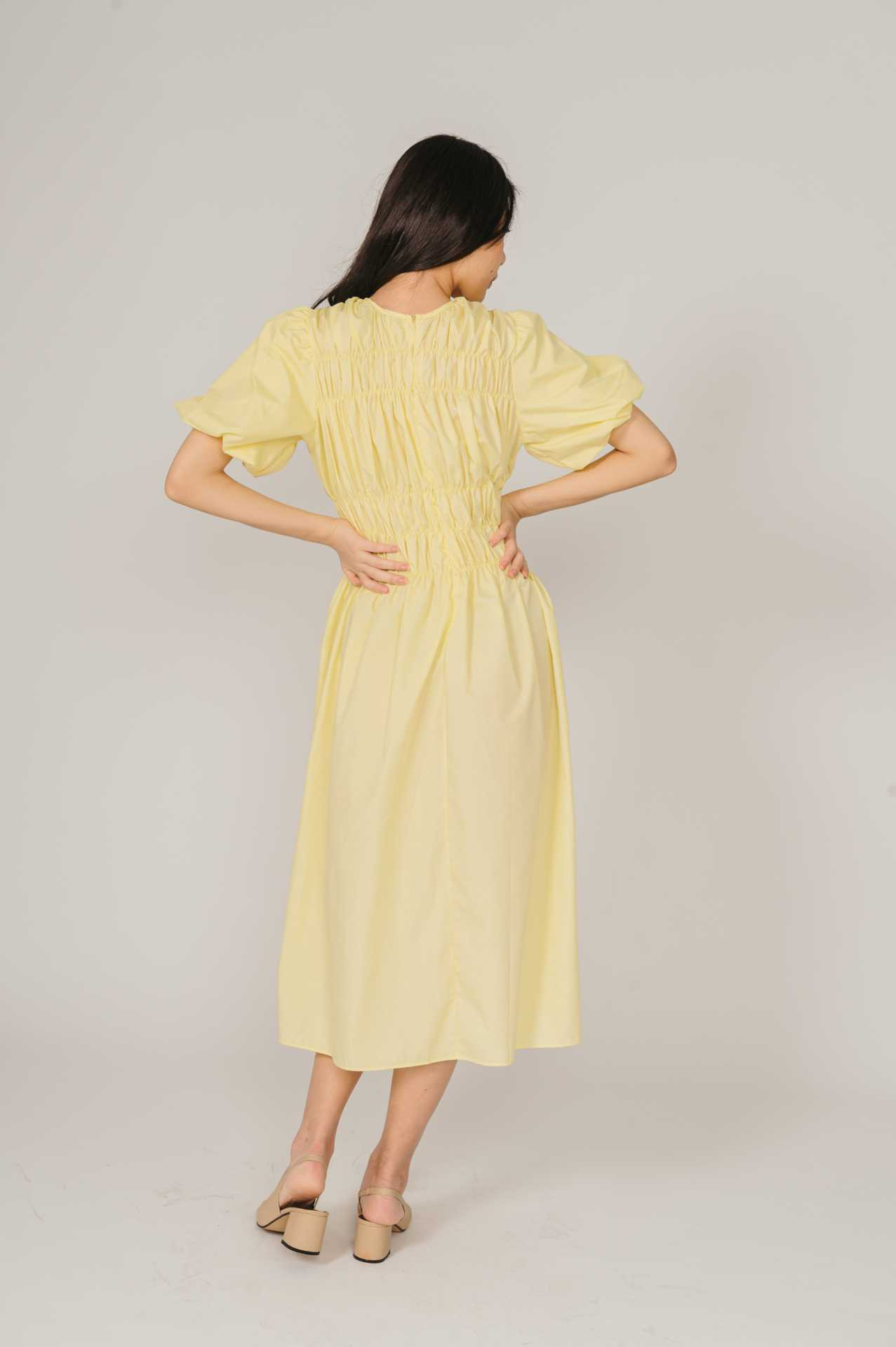 Yilin Yellow Dress
