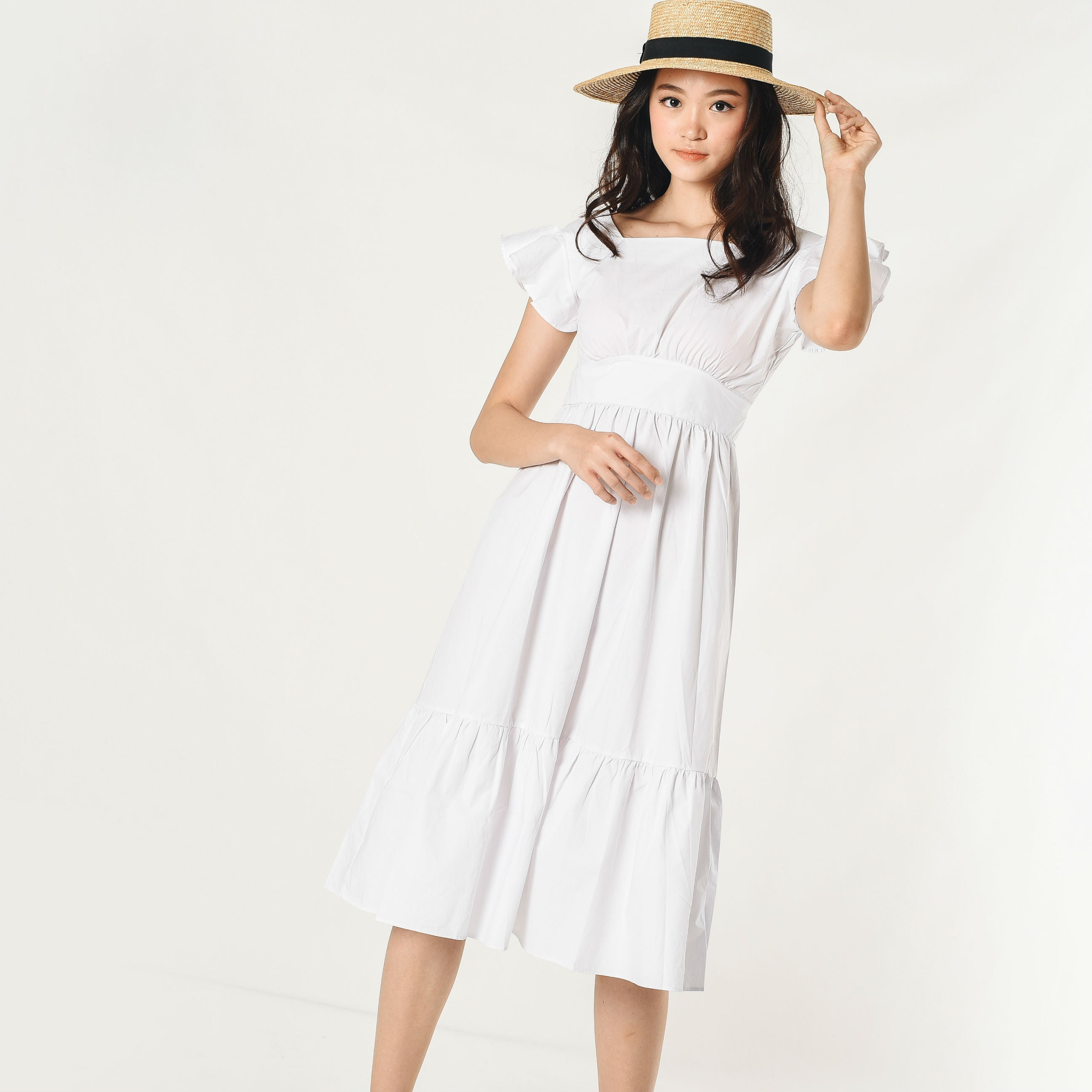 Tiffany Maxi Dress - White