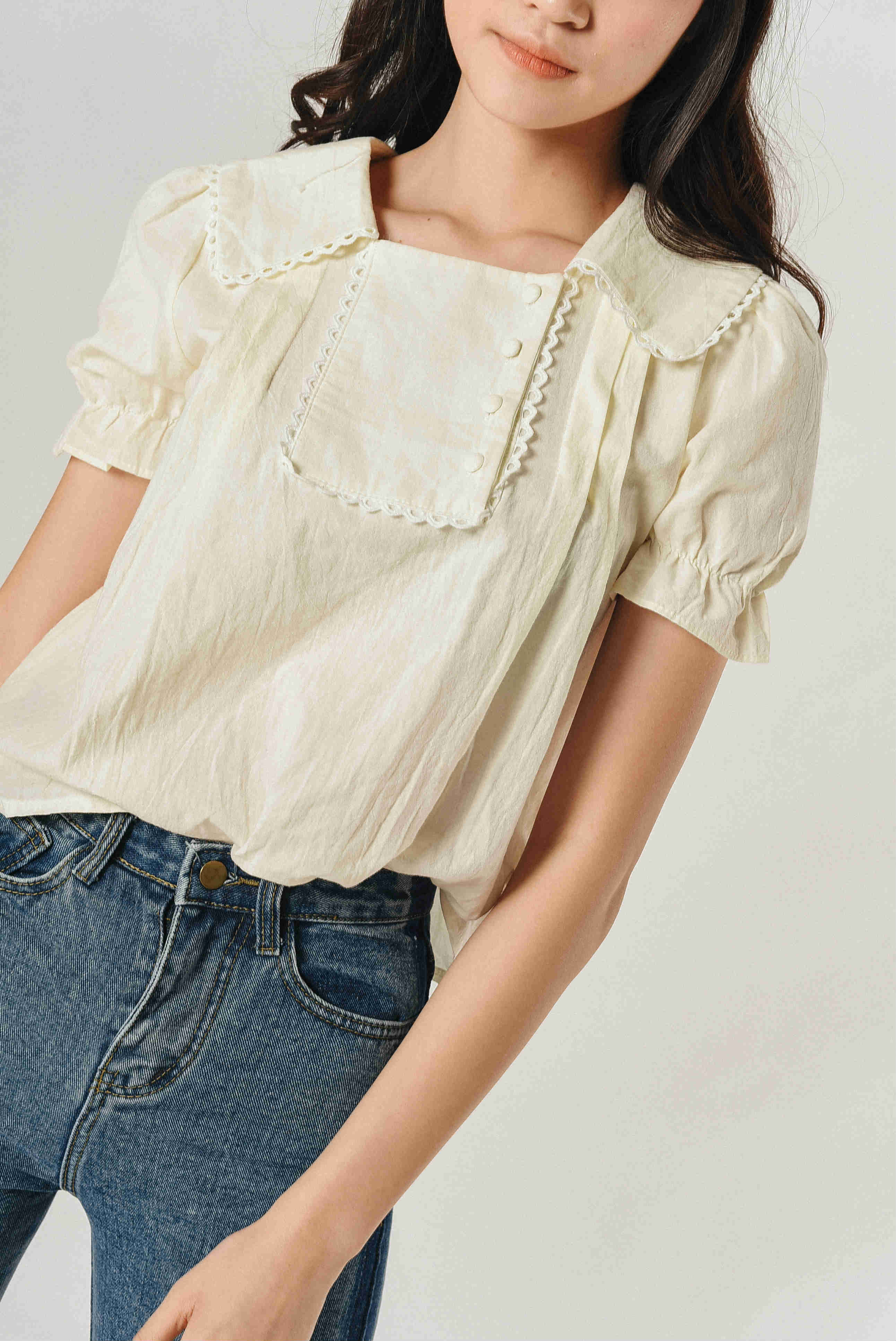 Hani Buttoned Top