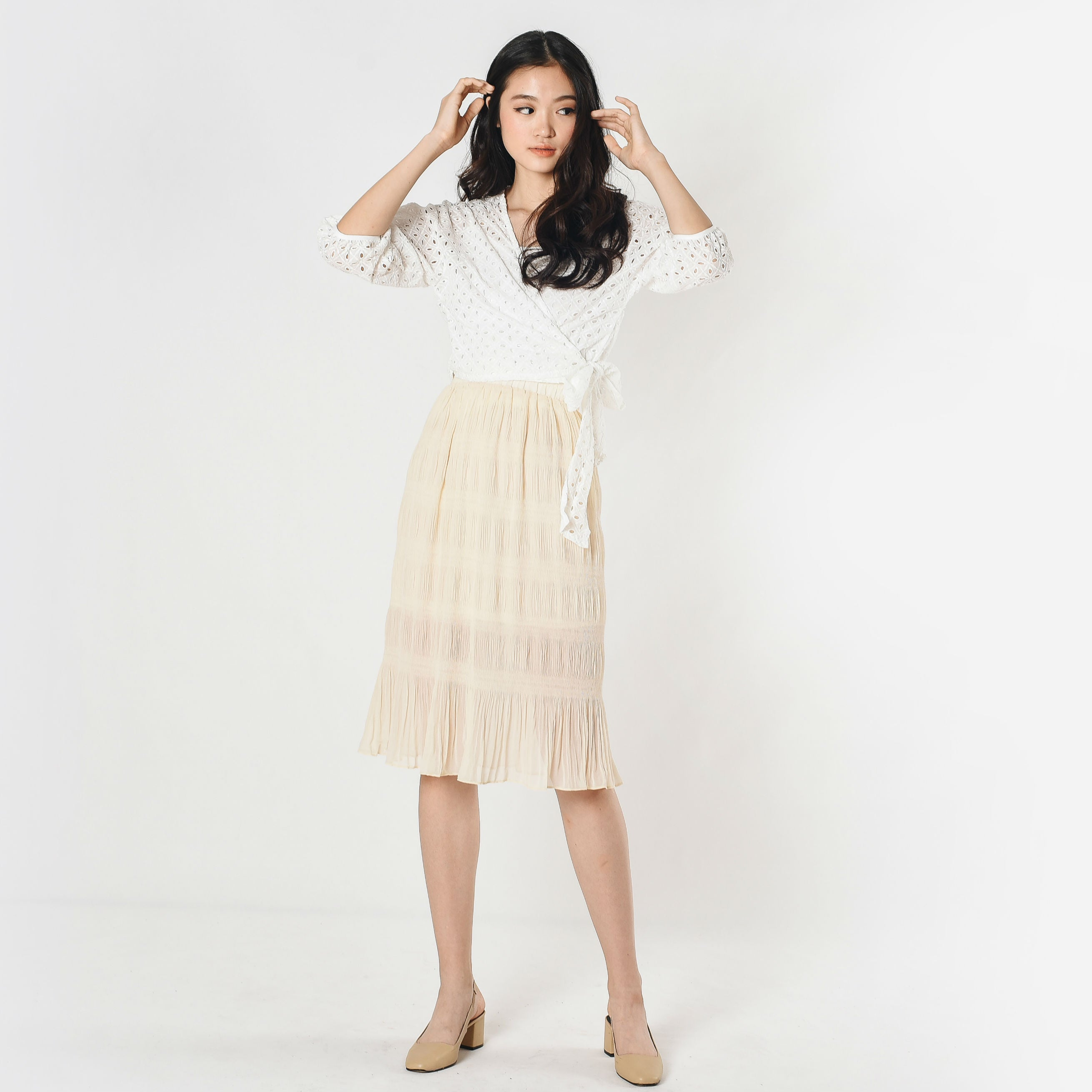 Theodora Pleated Skirt