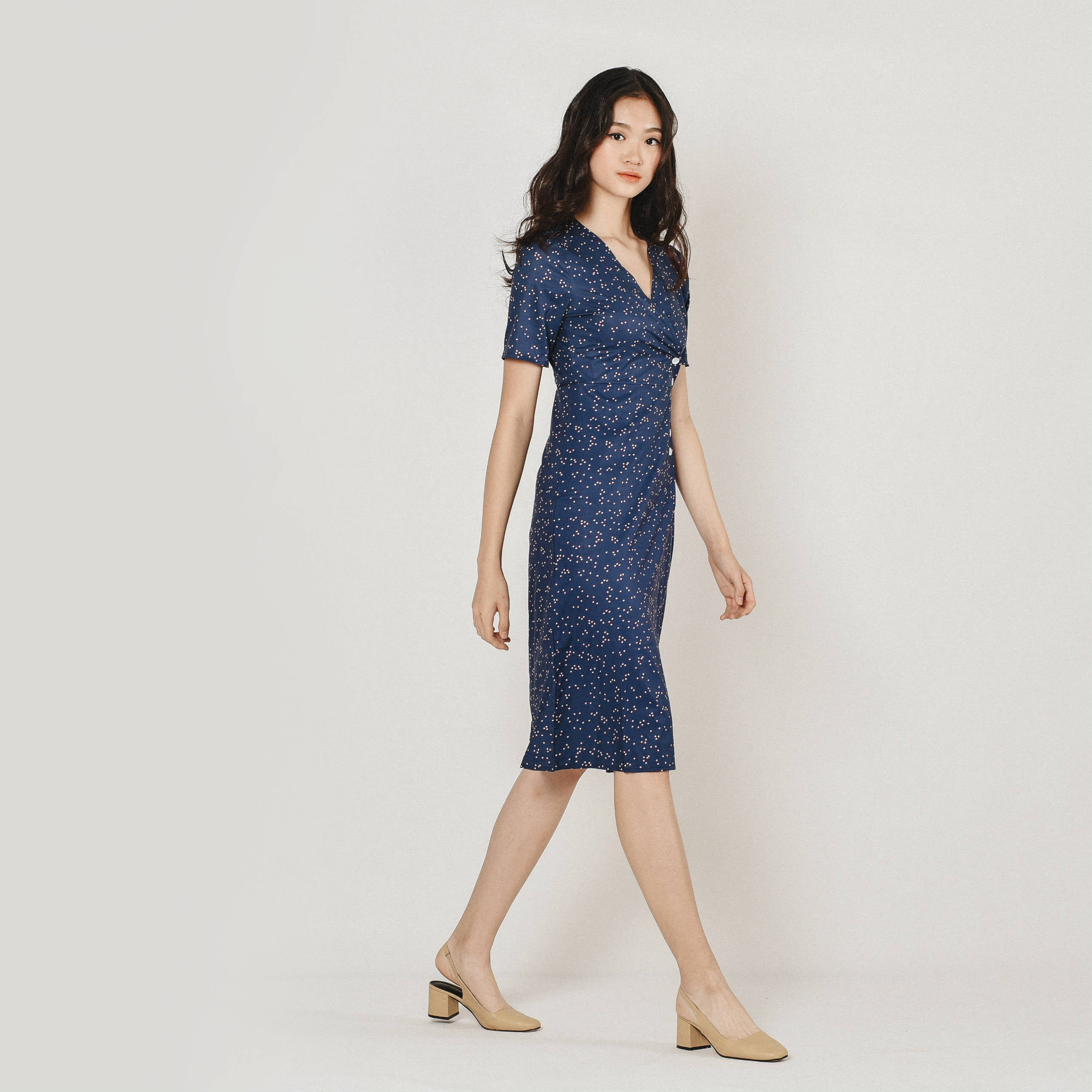 Theory Side-Buttoned Dress