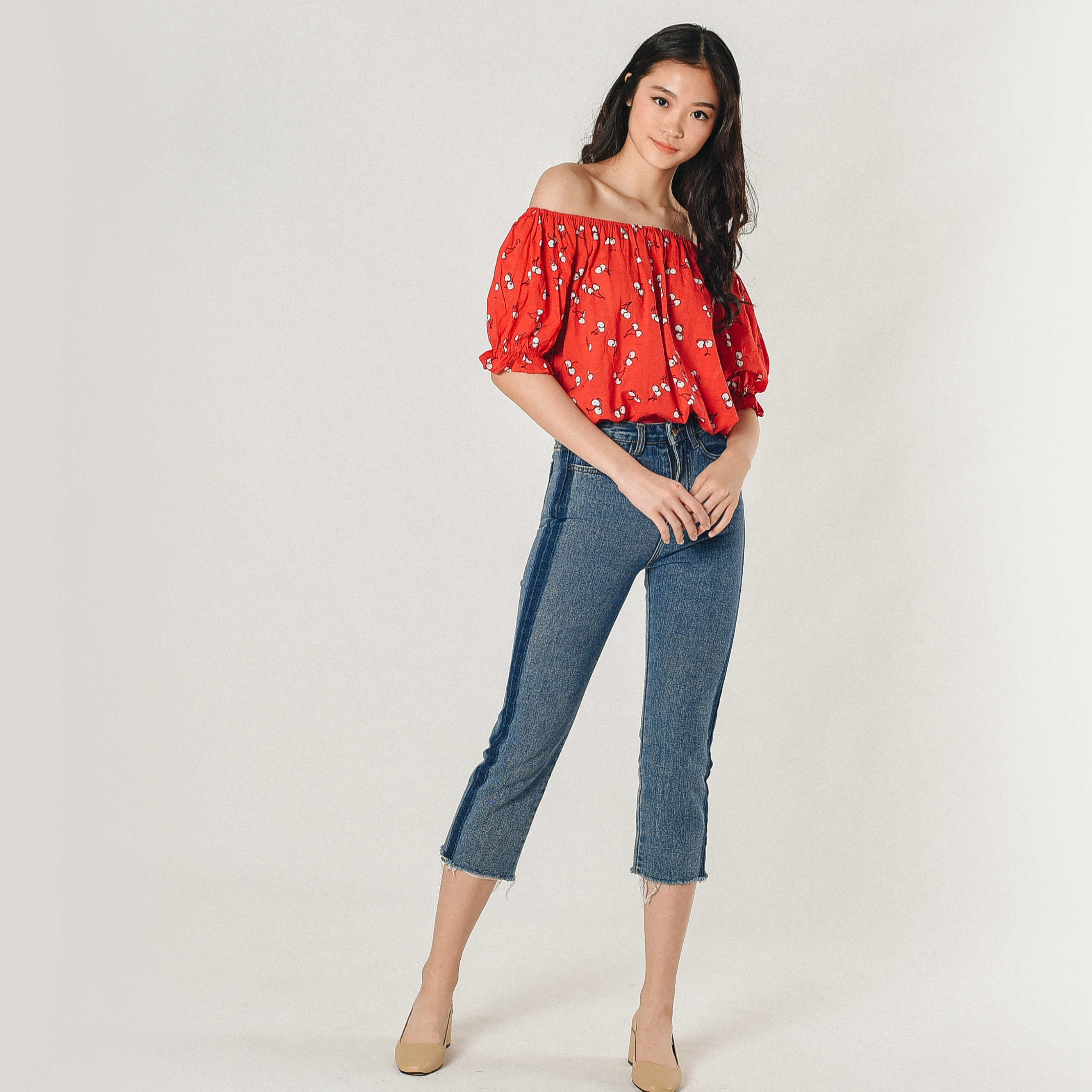 Rainie Off-Shoulder Top