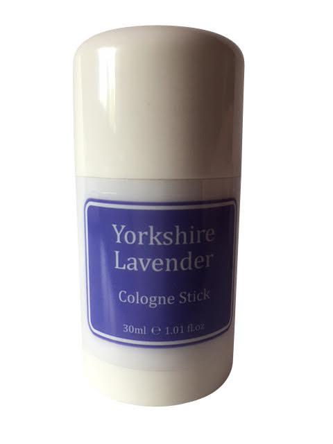 1 x Yorkshire Lavender Cologne Stick - 30ml