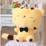 Stuffed Animal Cat Beige