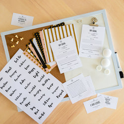 Clear Vision Box - The Vision Board Kit