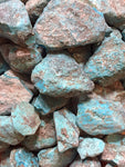 High Grade, Kingman Arizona Turquoise Rough Stabilized - 1 lb - Lapidary Rough American Turquoise - Item#KAT88-1