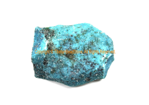 High Grade, Kingman Arizona Natural Turquoise Rough - Lapidary Rough American Turquoise - Item#KAT8808