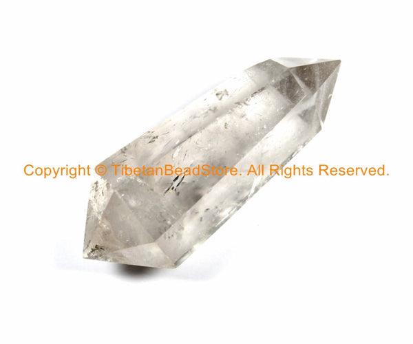LARGE Double Point Polished Himalayan Crystal Quartz - Tibetan Natural Healing Crystal Quartz - B2958