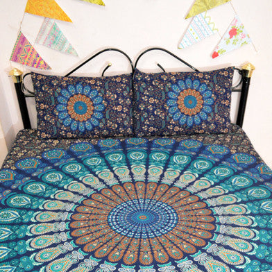 Mandala Throws with Pillow Cases