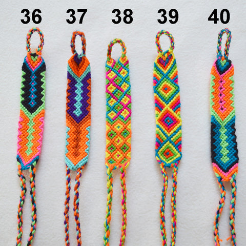 1-Inch Wayuu Friendship Bracelet