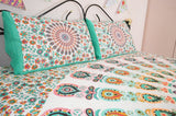 Bohemian Paradise Mandala With Pillow Cases - Queen