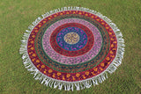 Free as the Flowers Mandala - Roundie