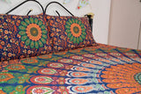 Kaleidoscope World Mandala With Pillow Cases - Twin / Queen
