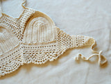 Nadine Crochet Top - Cream