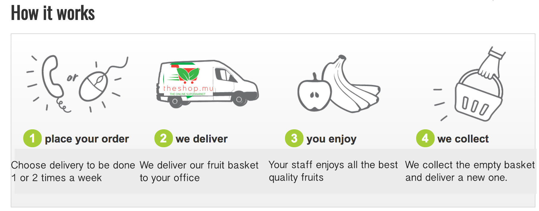 office fruit delivery mauritius
