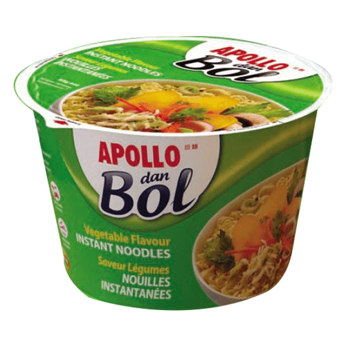 ABC Foods - Apollo Pantry Apollo, dan Bol Vegetables Noodles, 85g