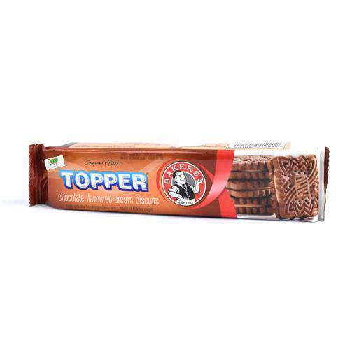 ABC Foods - Bakers Pantry Bakers, Topper Chocolate Biscuits, 125g