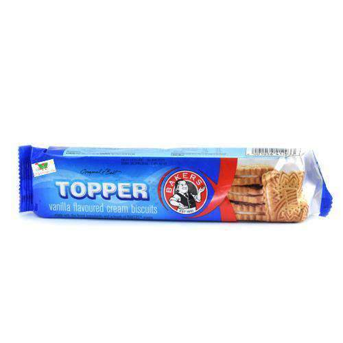 ABC Foods - Bakers Pantry Bakers, Topper Vanilla Biscuits, 125g