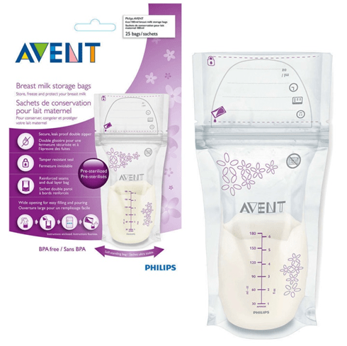 Avent, Breast Milk Bags, 180ml