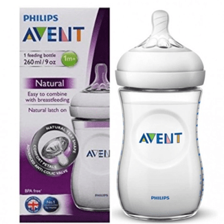 Meem - Avent Baby Avent, Medium Feeding Bottle, 260ml