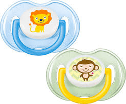 Meem - Avent Baby Avent, Orthodontic Soother 0-6M, pack of 2