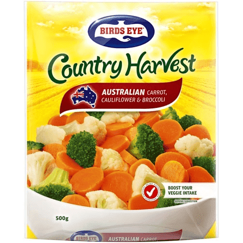 Birds Eye, Carrots Cauliflower & Broccoli, 500g