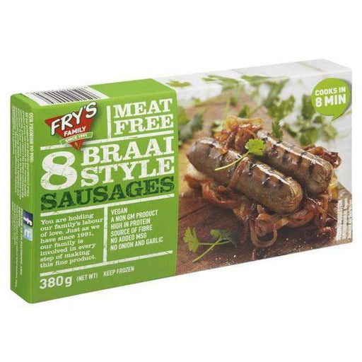 Fry's Braai Sausages x 380g - shop_bungsy