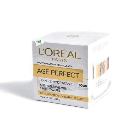 Brandactiv - L'Oreal Beauty & Personal Care L'Oreal,, Age Perfect Re-Hydrating Day Cream, 5cl