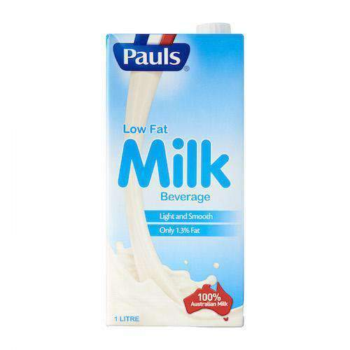 Century Trading - Pauls Milk & Eggs Pauls, Low Fat Milk, 1L
