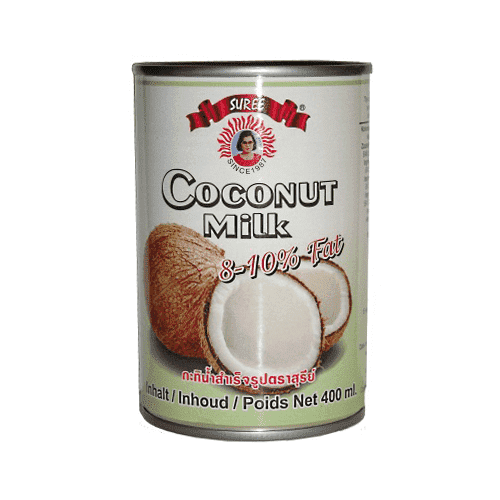 Century Trading - Suree Pantry Suree, Coconut Milk, 8-10% fat, 400ml