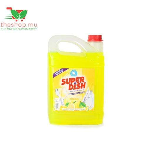 Cernol Marketing Household Supplies Cernol, Super Dish, Lemon, 5L