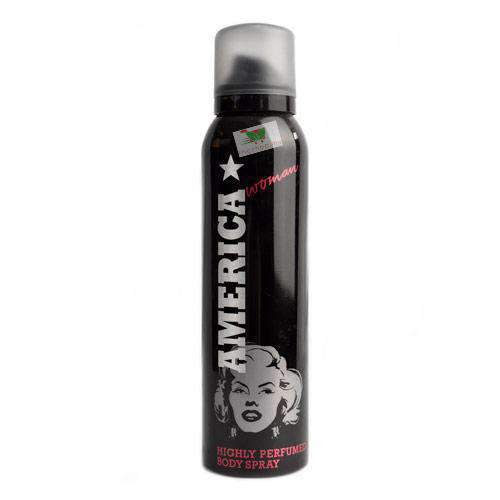 America, Black Body Spray, Women, 15cl