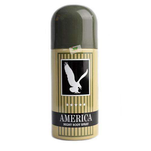 America, Night Body Spray, Men, 15cl