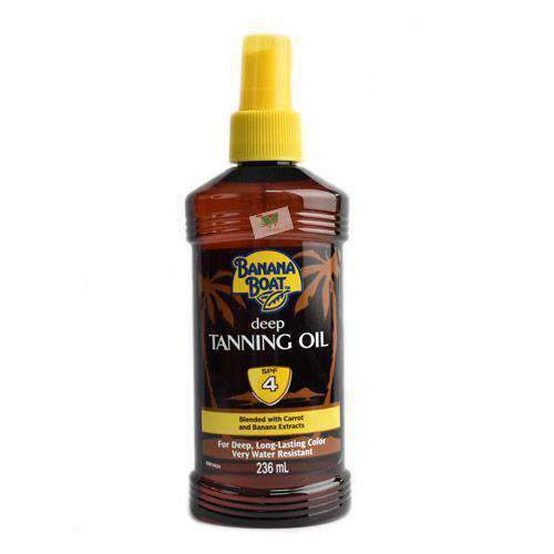 Banana Boat, Deep Tanning Oil, SPF4, 236ml