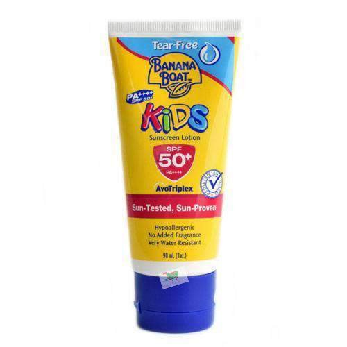 Banana Boat, Kids Sunscreen Lotion, SPF50+, 90ml