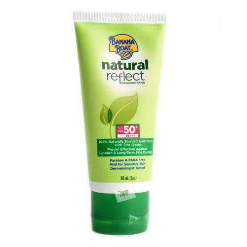 Chemtech - Banana Boat Beauty & Personal Care Banana Boat, Natural Sunscreen SPF50+, 9cl