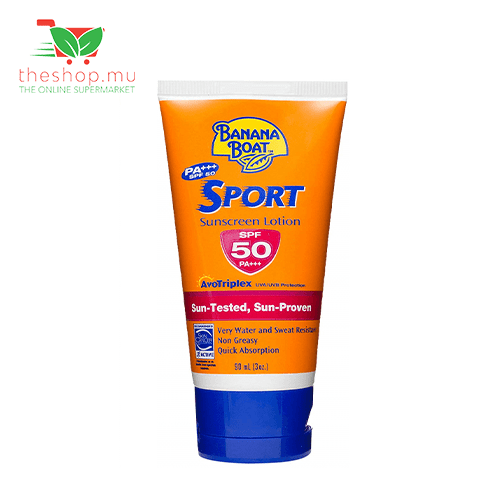 Banana Boat, Sport Sunscreen Lotion SPF 50, 90ml
